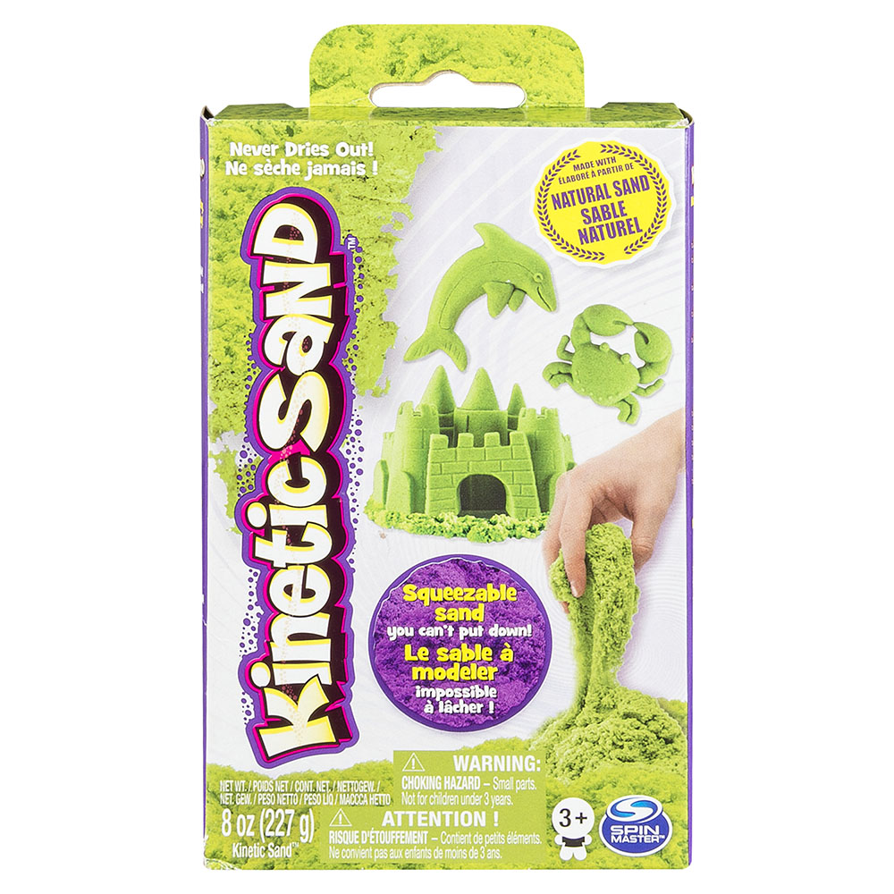 Kinetic Sand - 8 oz Sand box assorted