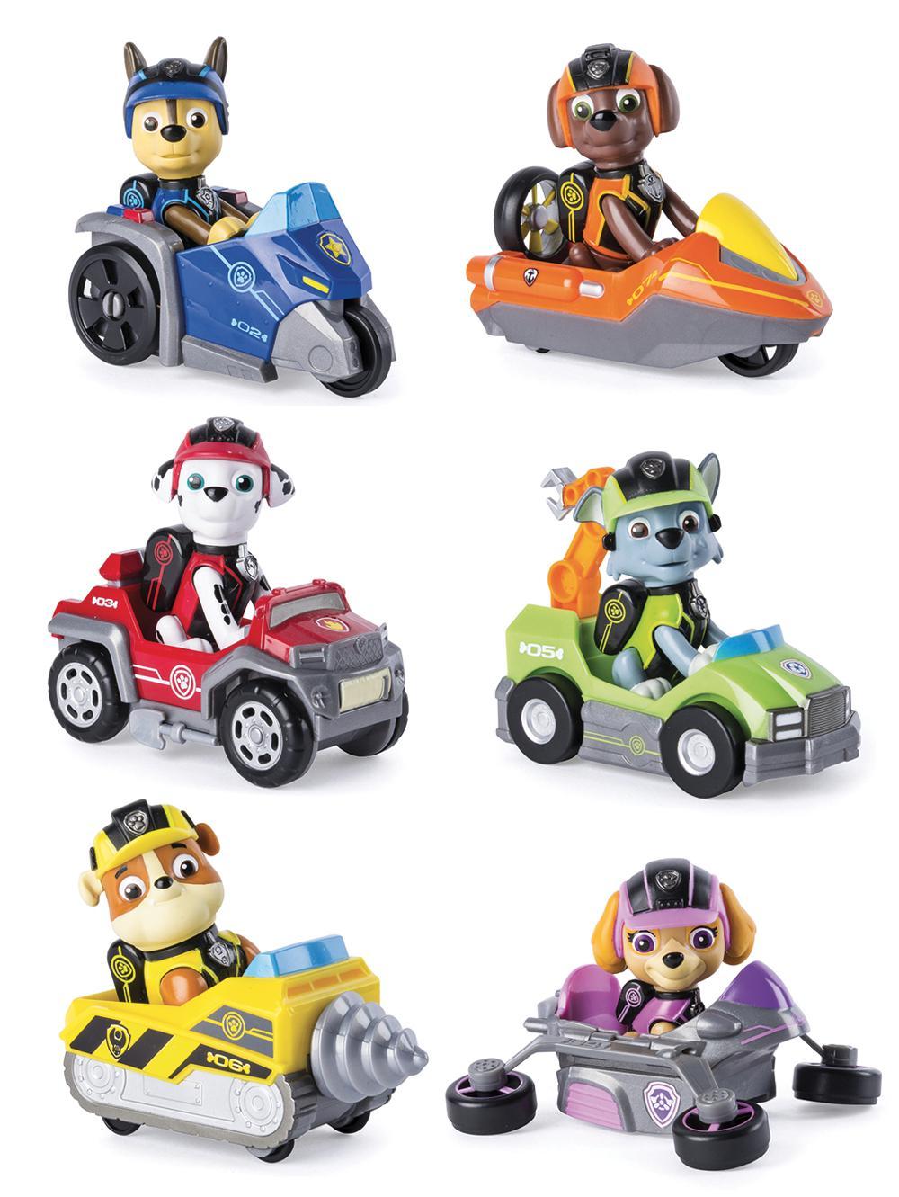 Pat'PatrouilleMini véhicules et figurines assortis