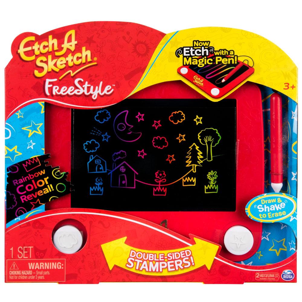 Etch A Sketch Freestyle