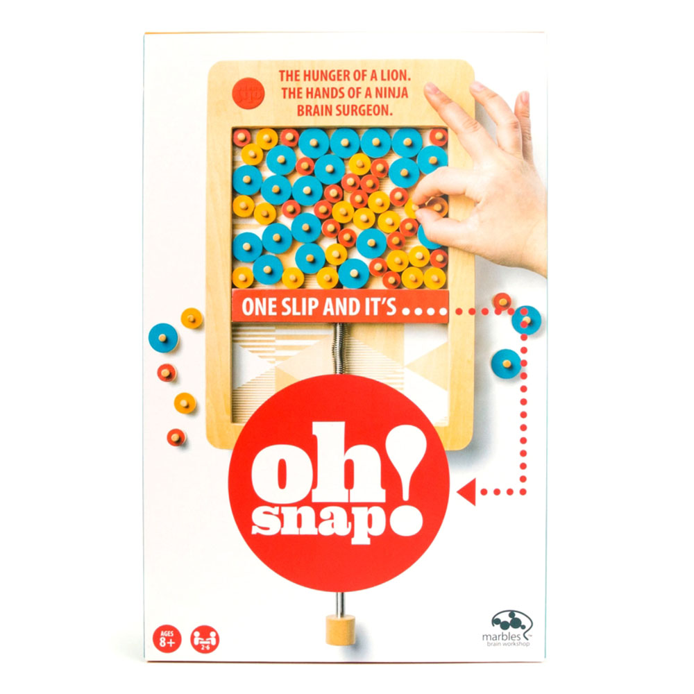 Jeu Marbles Oh Snap 2.0 Version anglaise