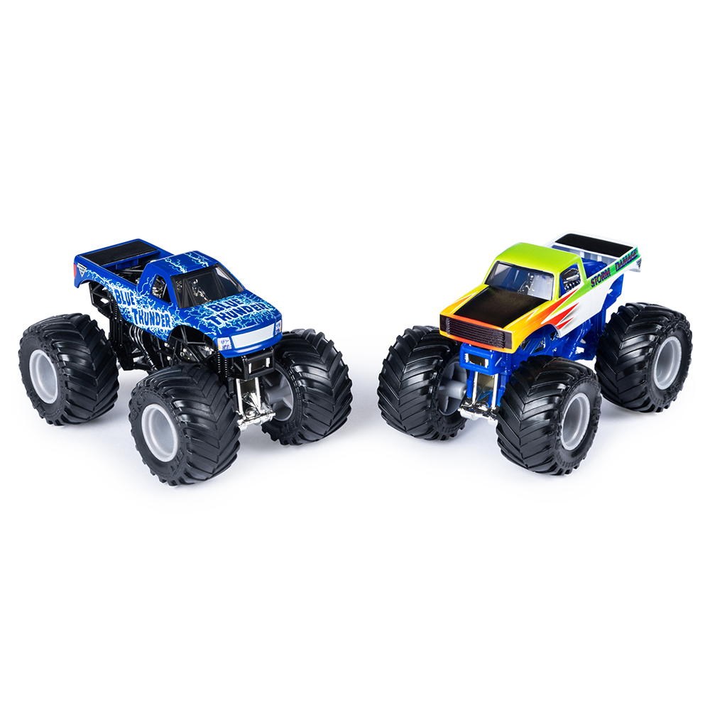 Monster Jam 1:64 Scale Vehicle 2 Pack assorted