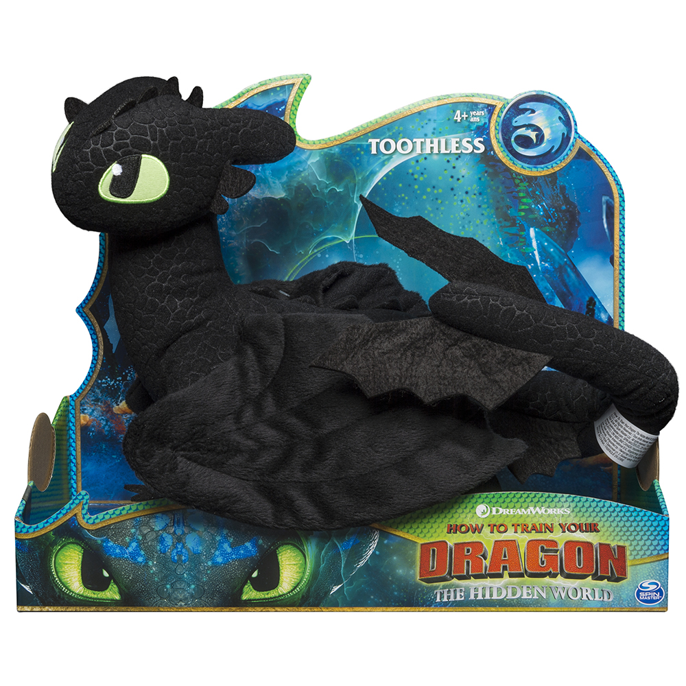 Dragons - Deluxe Plush Toothless