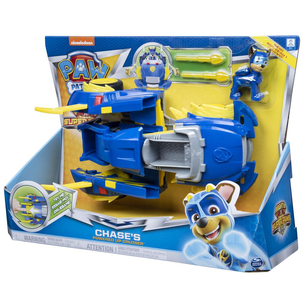 Paw Patrol- Power Changing Vehicle assorted