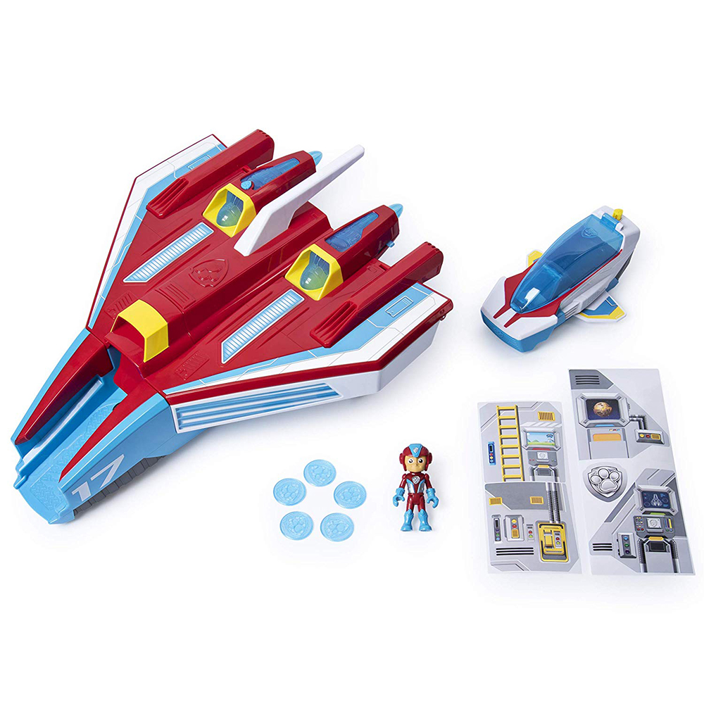 Paw Patrol - Super Paws Mighty Jet Command center