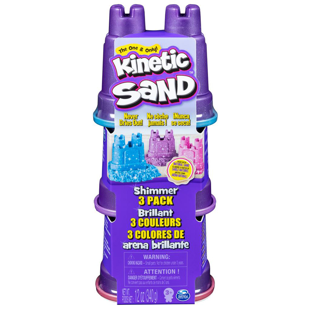 Kinetic Sand - Single shimmer multi pack