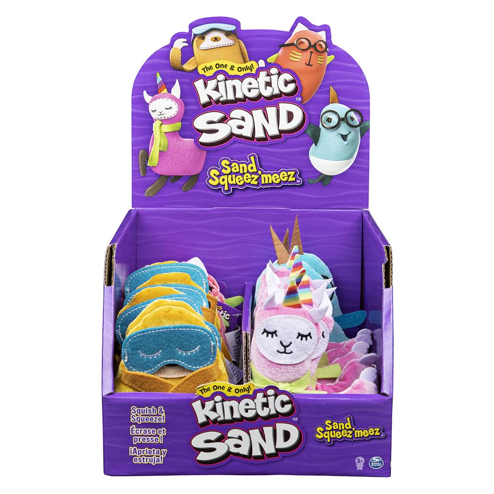 Kinetic Sand- Squishies assorted