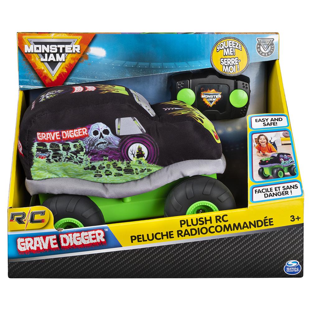 Monster Jam - Grave Digger Plush Remote control