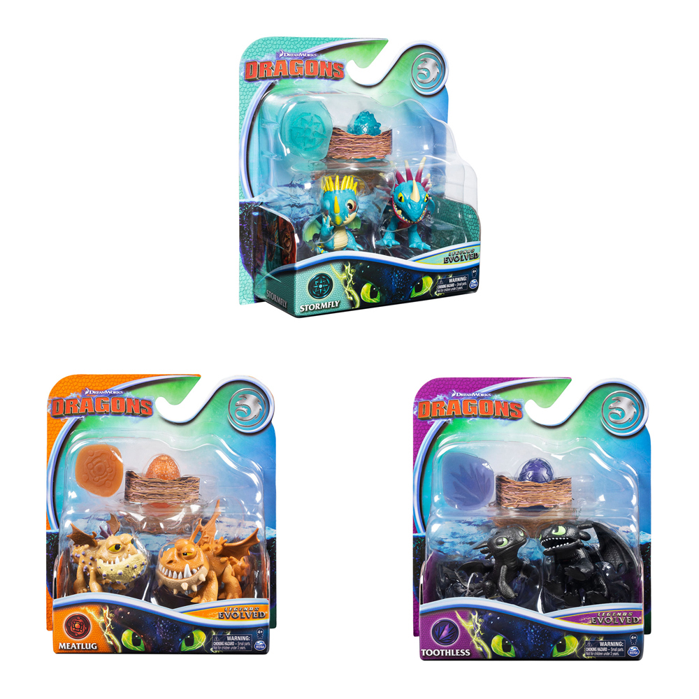 Dragons - Mini evolution pack assorted