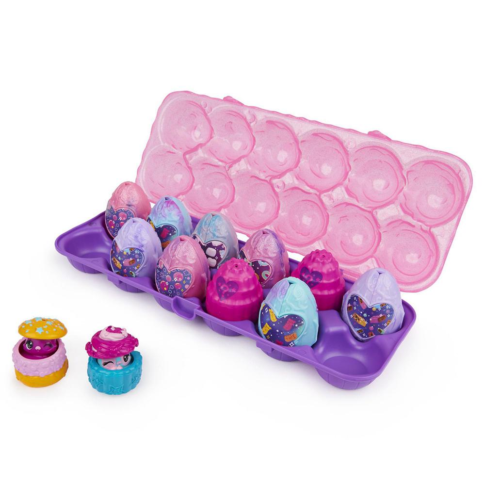 Hatchimals- Collegtibles 12 pack Egg carton S.8