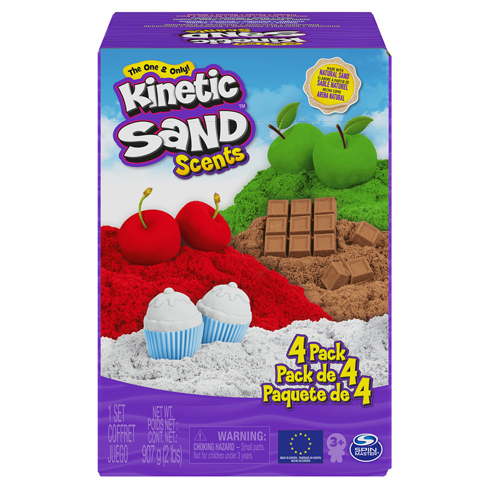 Kinetic Sand Scents - 4-pack
