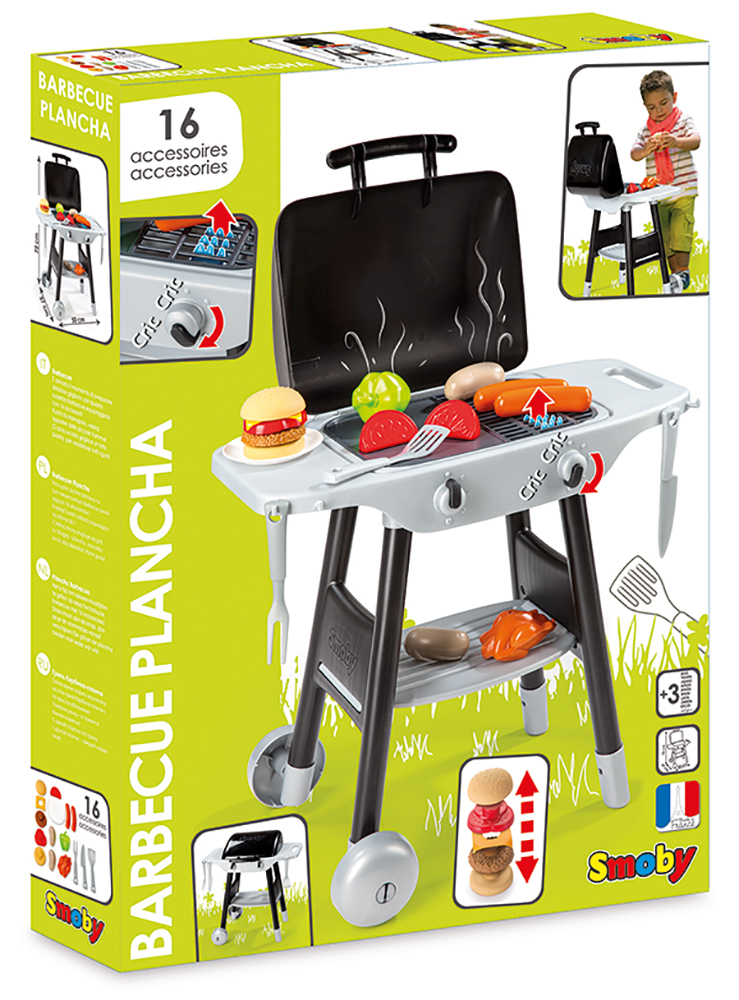 Smoby BBQ with 16 accessories