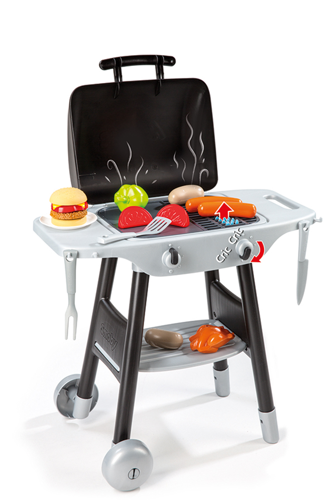 Smoby - BBQ Plancha with 16 accessories
