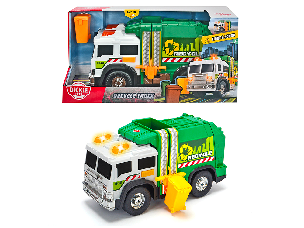 Action Series - Recycle Truck Light and sound 30 cm