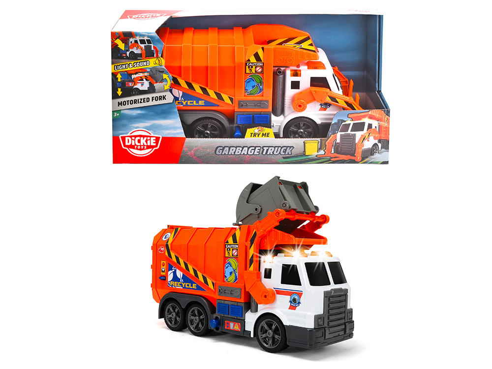 Action Series - Garbage Truck Light and sound 46 cm