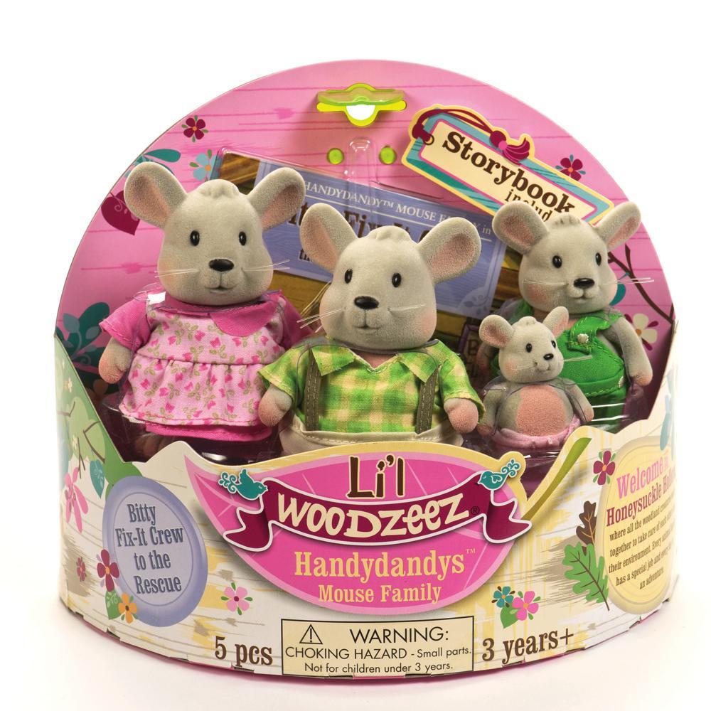 Li'l Woodzeez Famille de souris