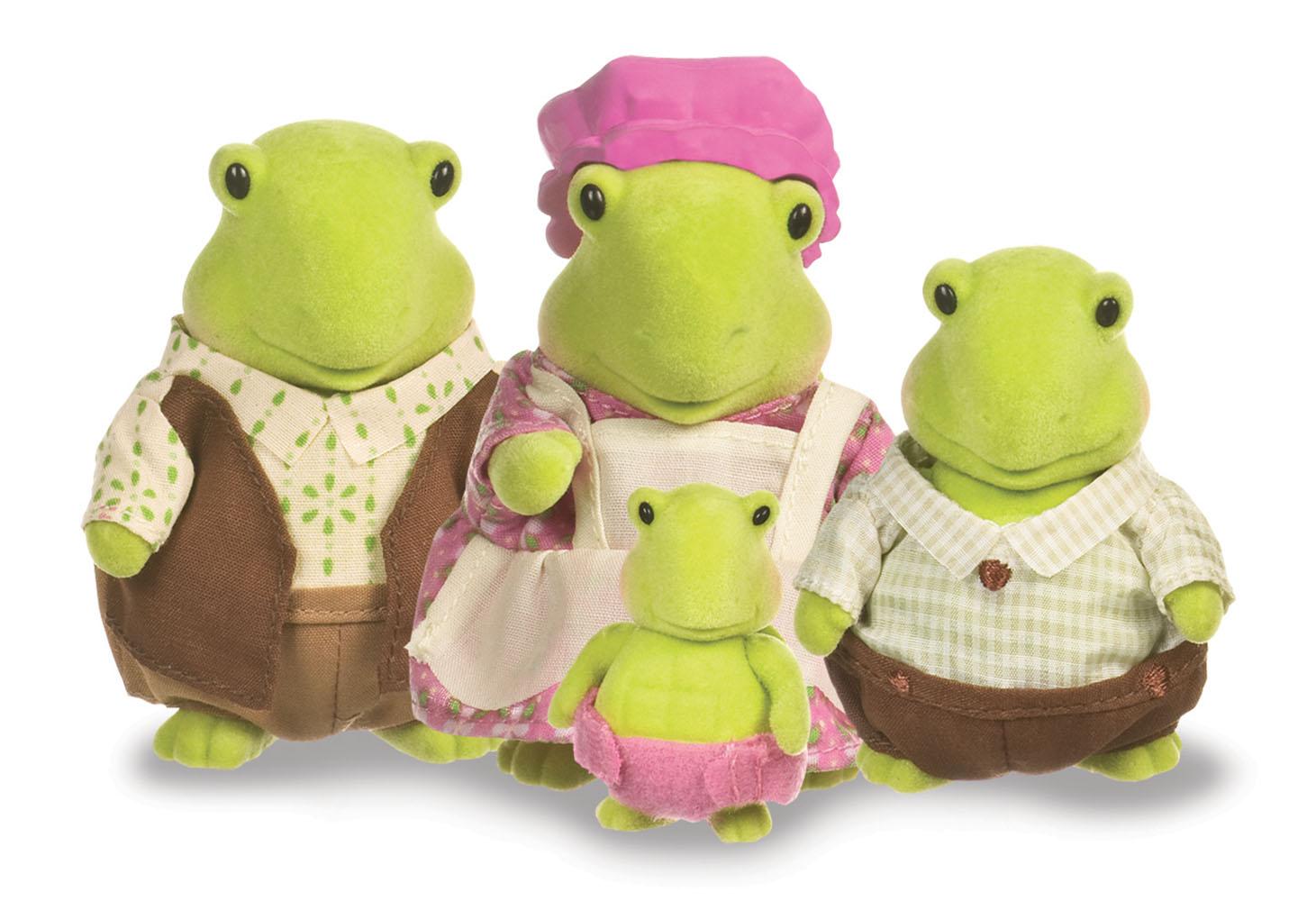 Li'l Woodzeez Turtle family