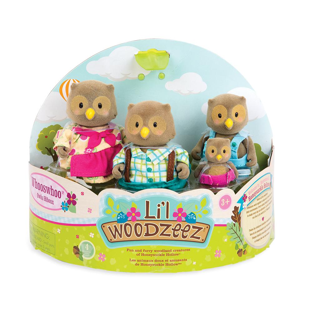 Li'l Woodzeez Famille de hiboux