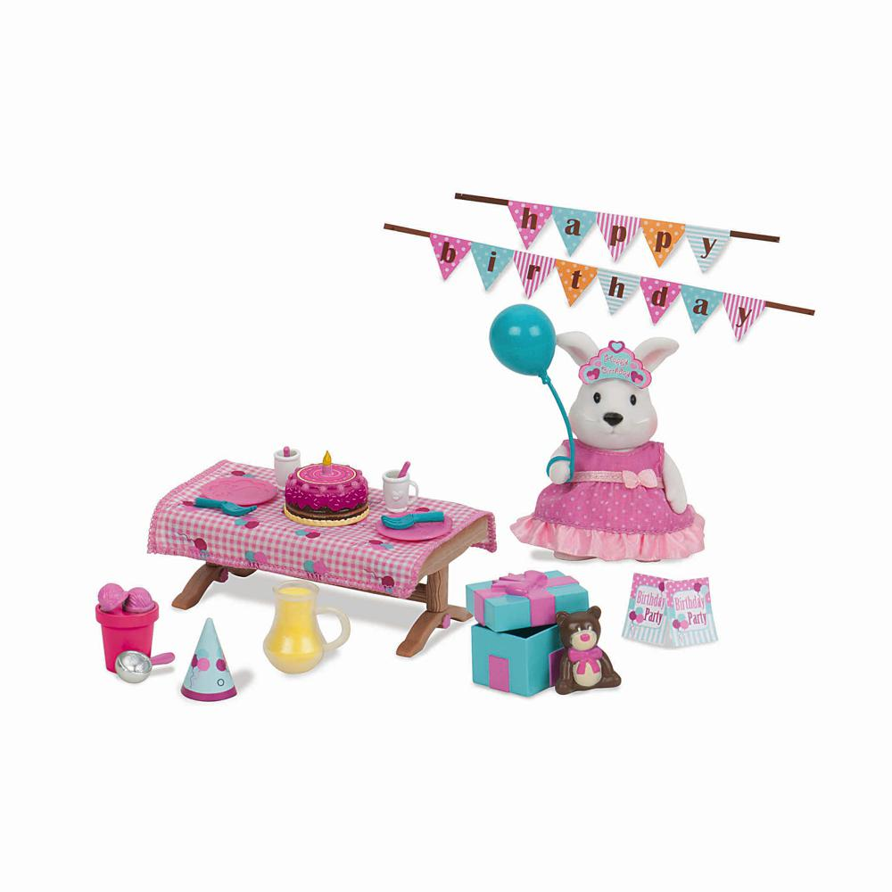 Li'l Woodzeez Birthday Playset