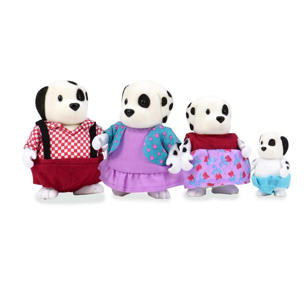 Li'l Woodzeez Famille de dalmatiens