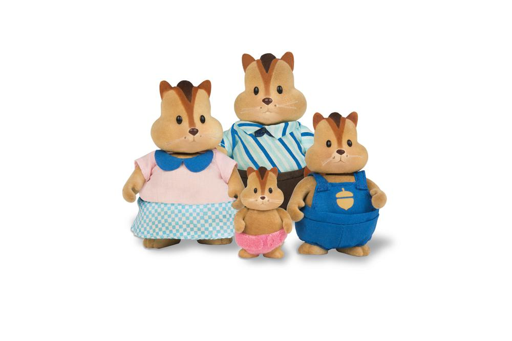 Li'l Woodzeez - Chipmunk Family