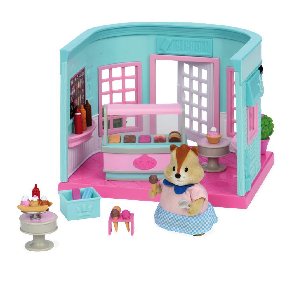 Li'l Woodzeez Scoops & Sprinkles Ice cream parlor