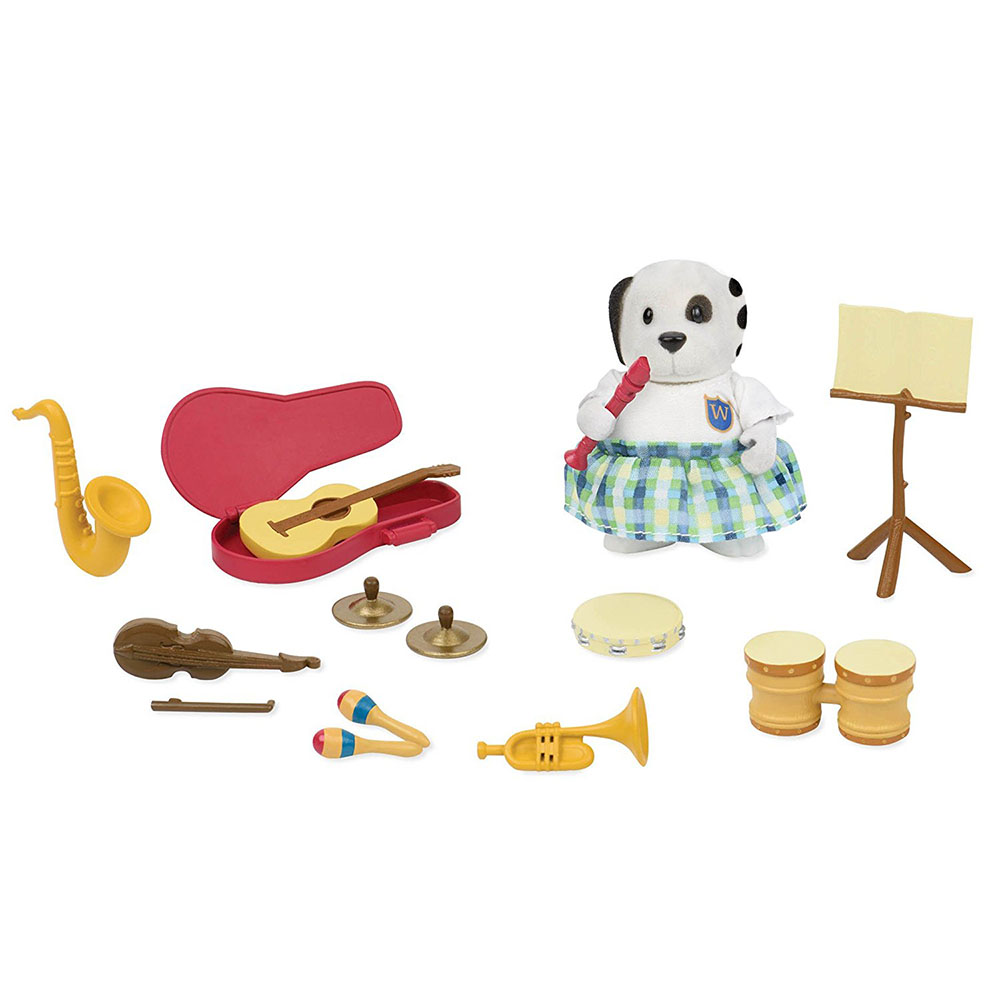 Li'l Woodzeez Music class Playset
