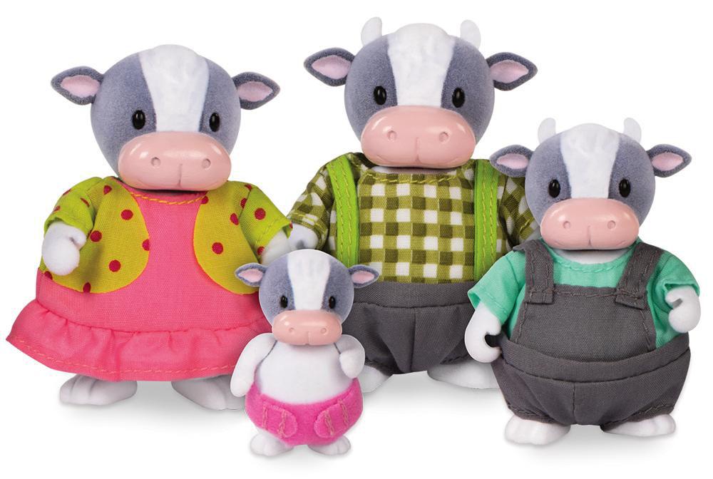 Woodzeez Famille de vaches