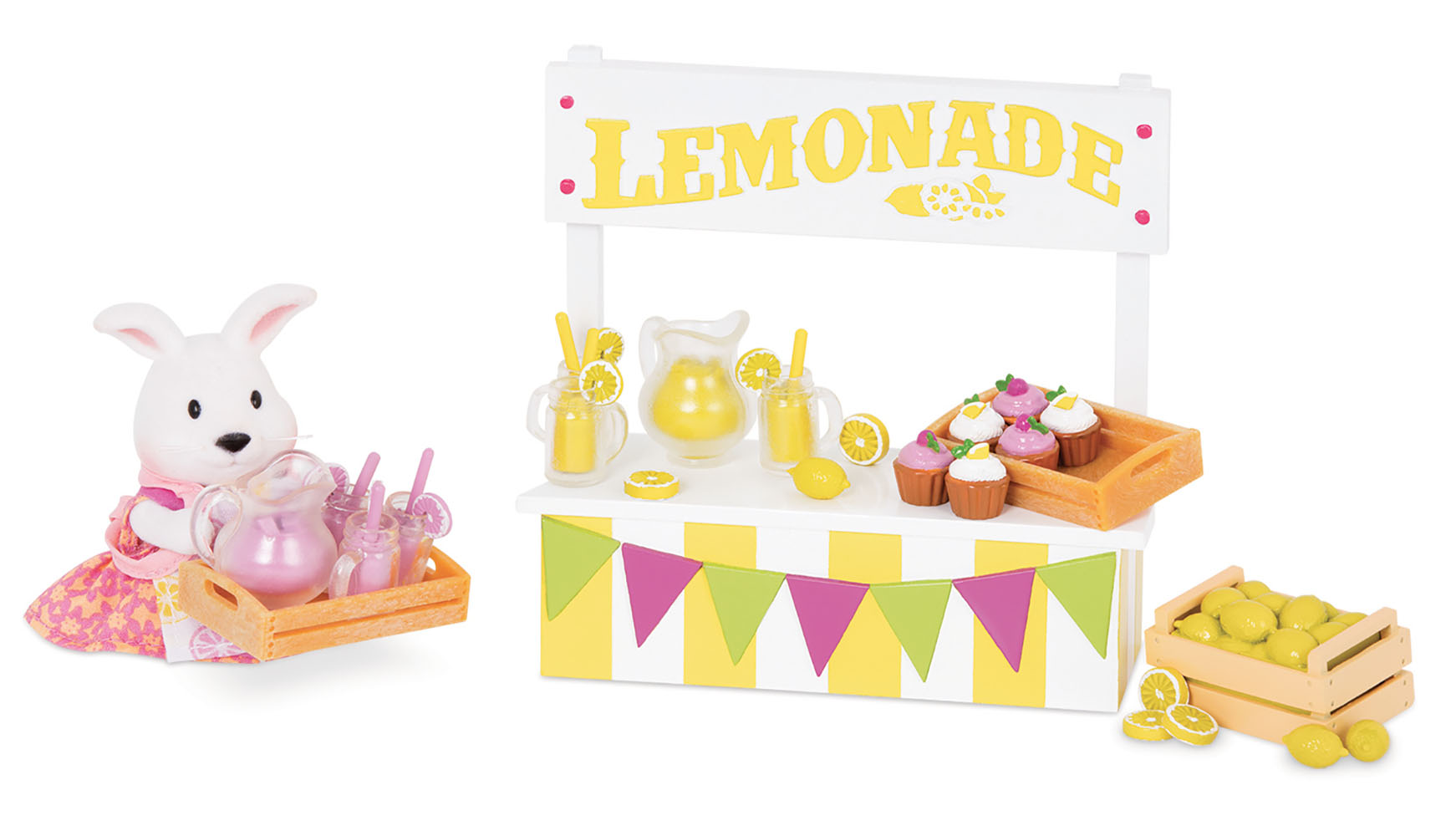 Li'l Woodzeez Limonade Stand Playset