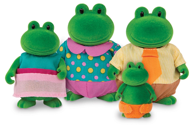 Li'l Woodzeez Famille de grenouilles