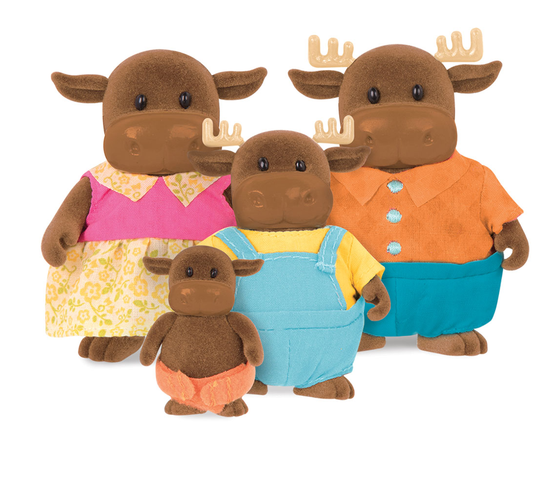 Li'l Woodzeez Moose family