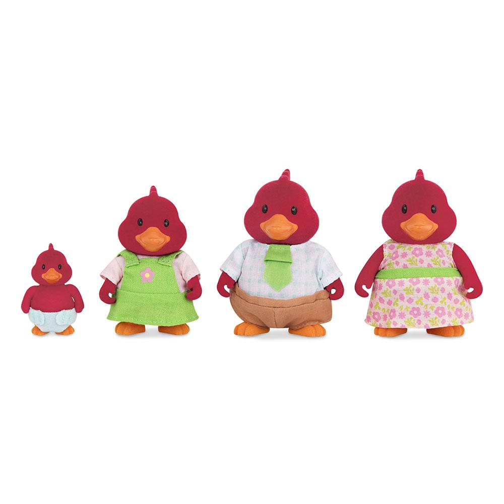 Li'l Woodzeez Cardinal family