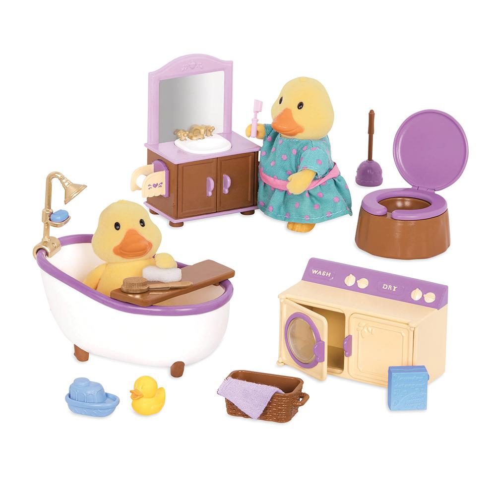 Li'l Woodzeez Bathroom and Laundry Set