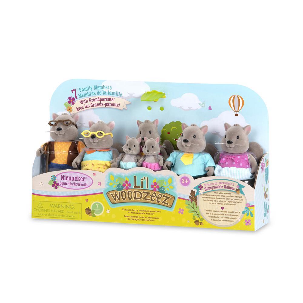 Li'l Woodzeez-Squirrel Big family