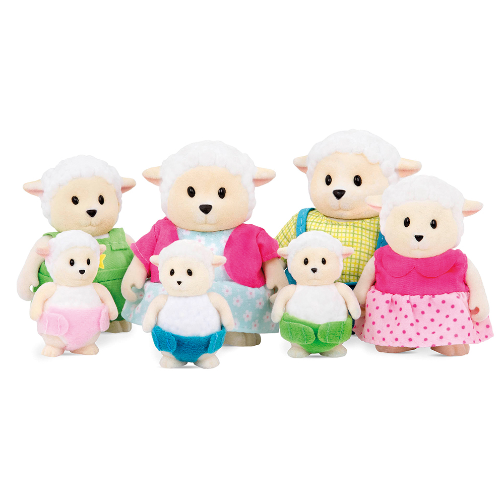 Li'l Woodzeez Sheep Big family