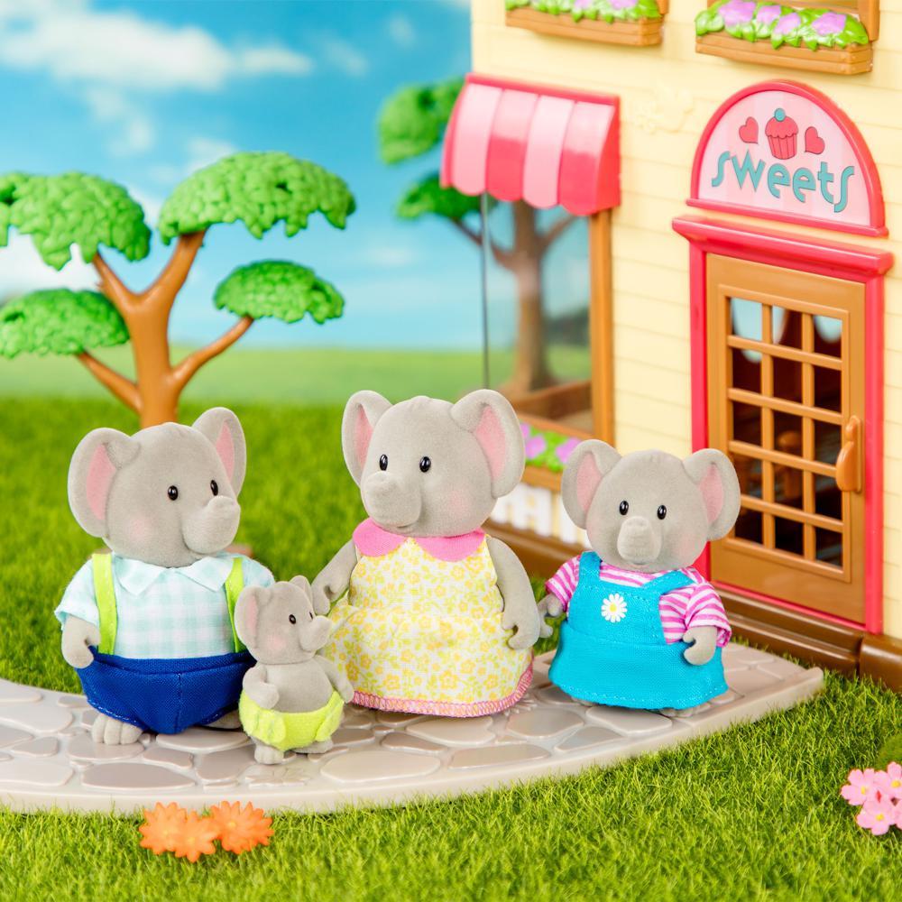 Li'l Woodzeez-Elephant family