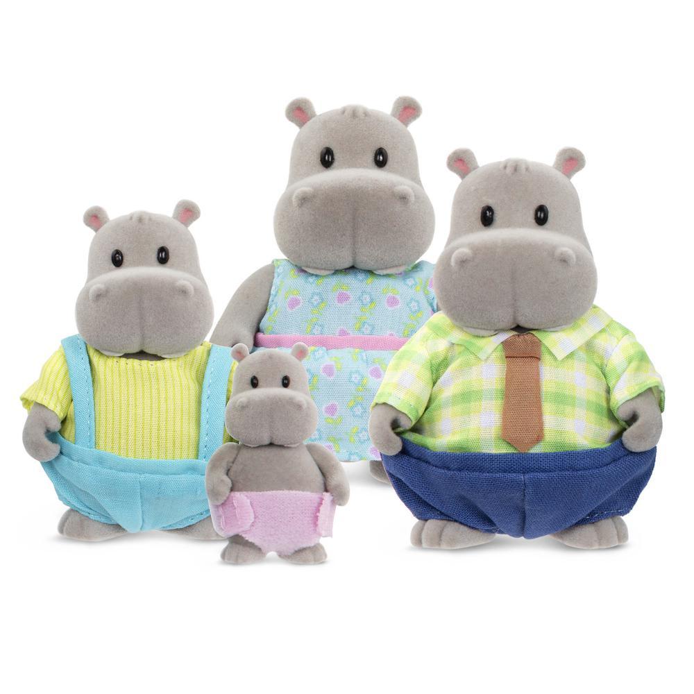 Li'l Woodzeez-Hippo family