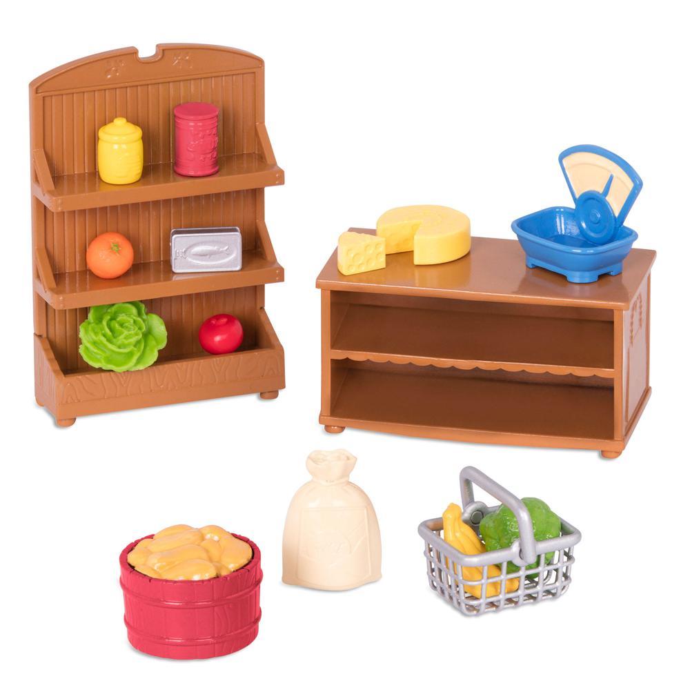 Li'l Woodzeez-Grocery store set