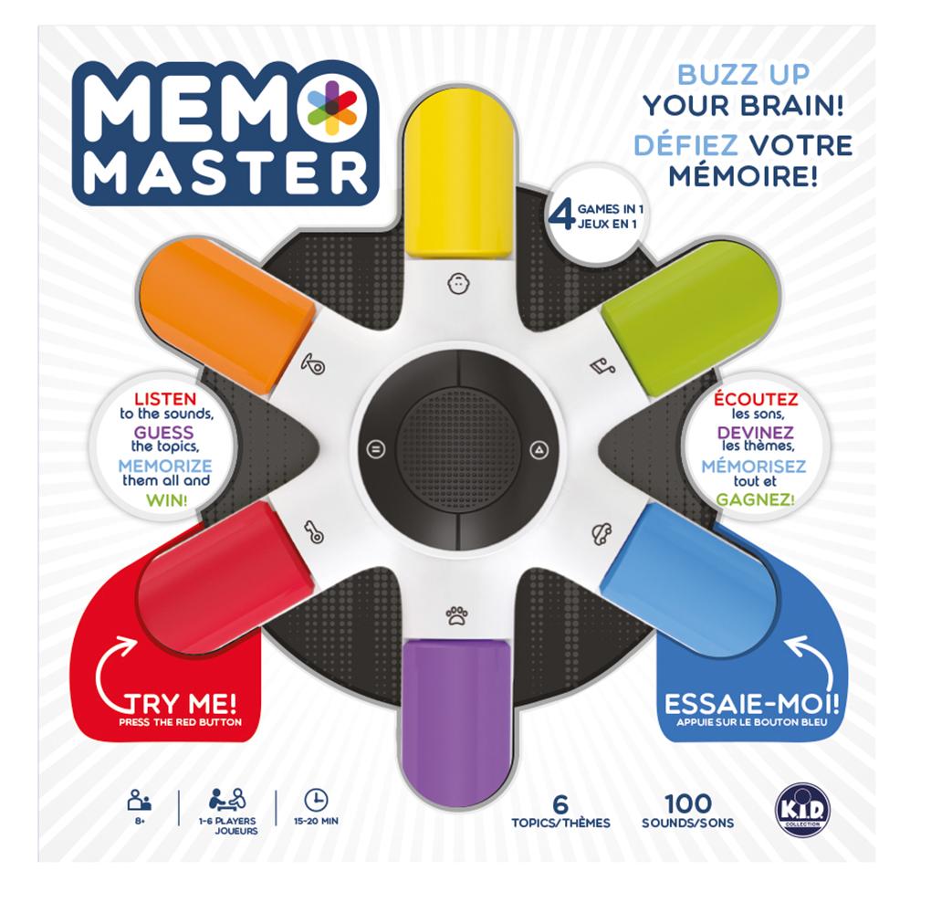 Memo Master game Bilingual version