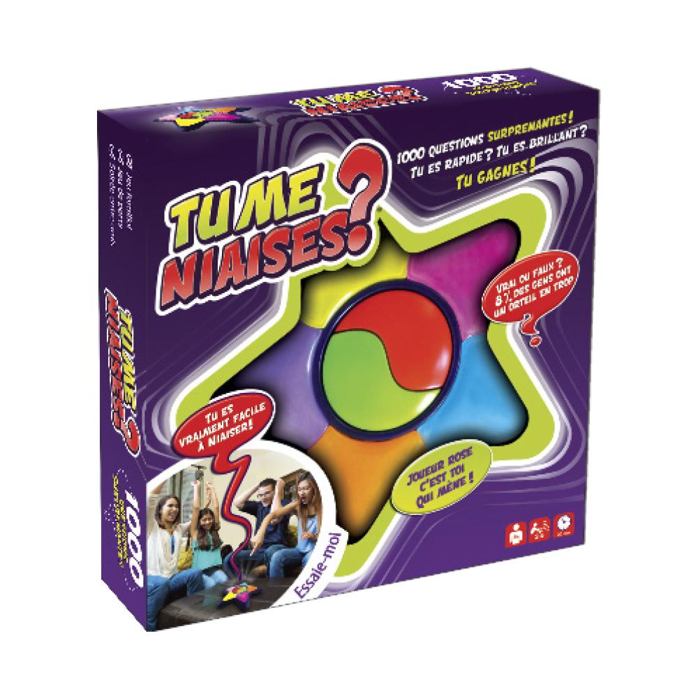 Game Tu me niaises? French version