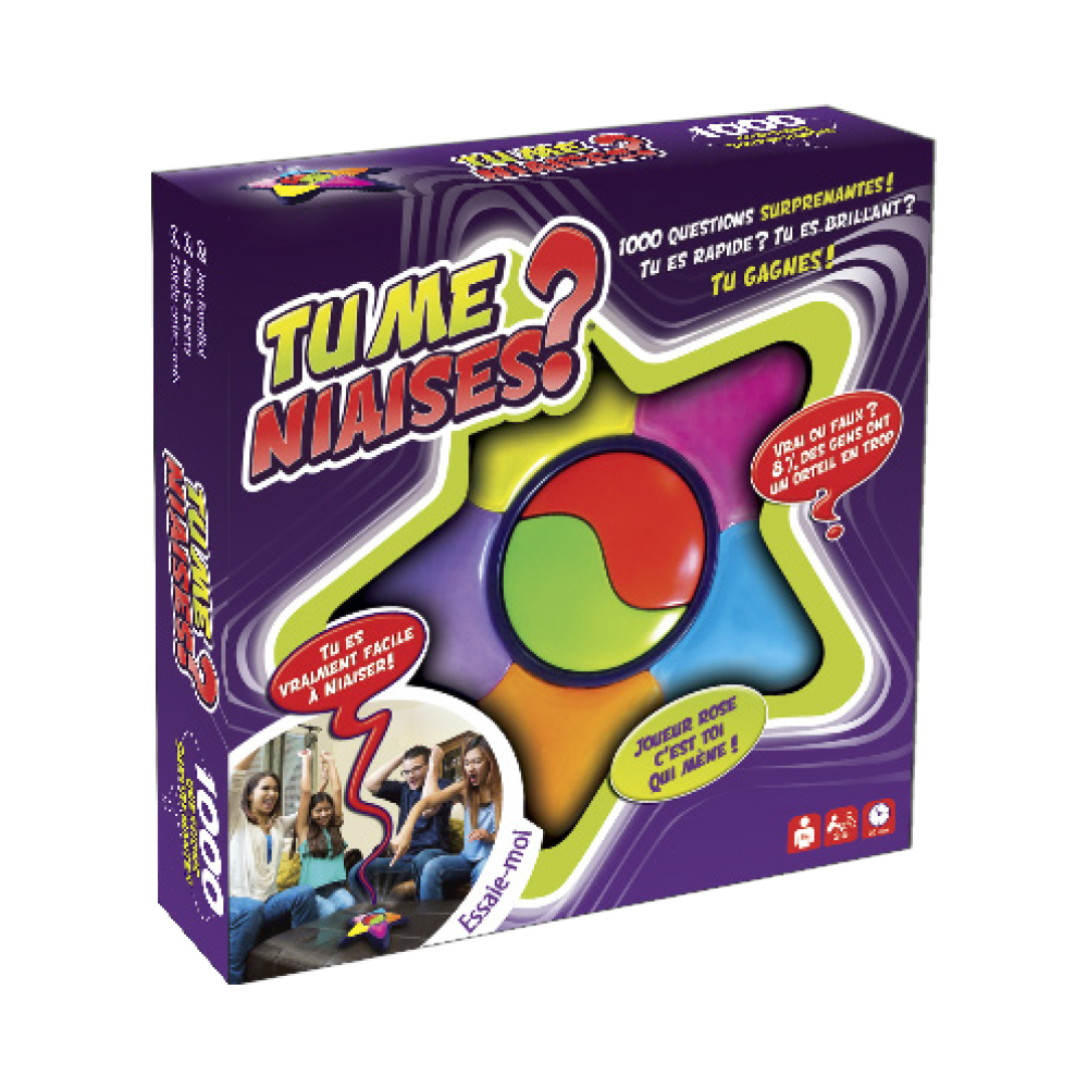 Game Tu me niaises? French version