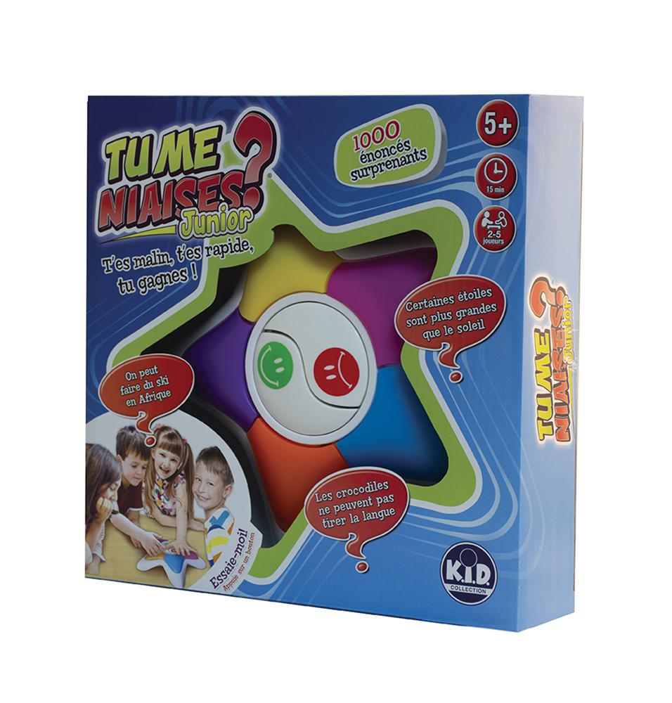 Game Tu me niaises? - Junior French Version